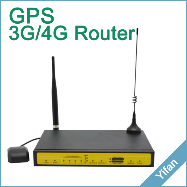 support GPS 4G YF360D-L-G 4G dual sim LTE router for M2M application support gps 4g yf360d l g 4g dual sim lte router for m2m application