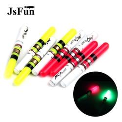 10 sztuk świecące pałeczki zielony/czerwony pracy z CR322 Luminous Float LED noc wędkarskiego świetlisty kij PJ143 w Spławiki od Sport i rozrywka na