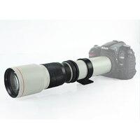 500 мм f/8.0 телефото фиксированным фокусным расстоянием + t2 адаптер для canon nikon olympus pentax sony a7 a6300 a6500 m4/3 gh4 камера dslr