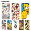 Huawei honor 9 lite Case,Silicon panda Painting Soft TPU Back Cover for Huawei honor 9 lite Phone fitted Case shell