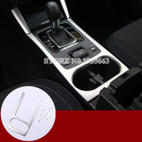For Subaru Outback Inner Console Storage Box & Water Cup Holder Cover 2015 2018 3pcs