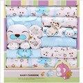 100% cotton newborn clothes autumn & winter newborn gift box set thick werm boy girl baby set 18 Piece For 0- 12 Month Baby