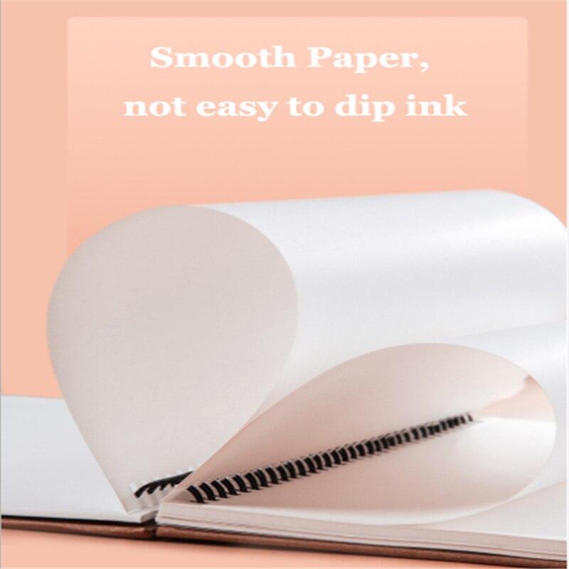 1 pcs A4 Marker Pad 50 Sheets Professional No Penetration Paper Drawing Album Sketchbook For Student Artists Art Supplies 2
