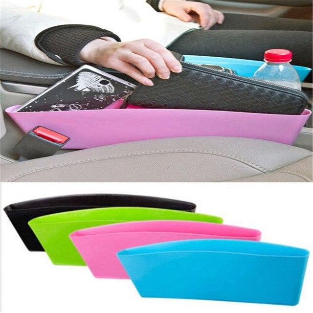 2017 Car-Styling Car Seat Seam Bag Useful Pocket Holder Storage Pouch Phone Purse Coins Key Car Seat Organizer Free Shipping