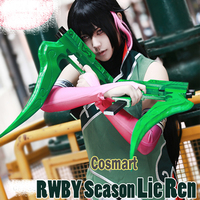 Anime RWBY Season Lie Ren Cosplay Costume Uniform Suits Halloween For Women and Men Customize Free shipping