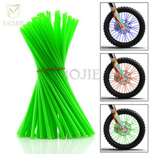 Motorcycle Wheel Spokes Skins Wheel Spoke Cover Wraps For Kawasaki KX 65 85 125 250 250 F 450 F KLX 125 250 150 S KDX 125 250 SR soundtronix s 125