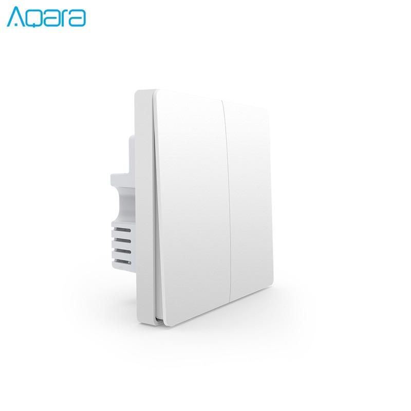 Image 2 - Xiaomi Aqara Wall Switch Light Switch ZigBee Version Single Fire/ Zero Fire /Wireless Switch APP Control Remote Smart Home Kit-in Smart Remote Control from Consumer Electronics