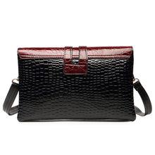 New Crocodile Pattern Women Messenger Bags Handbags Famous Brands Clutch Bag Bolsa Sac A Main Femme De Marque Celebre