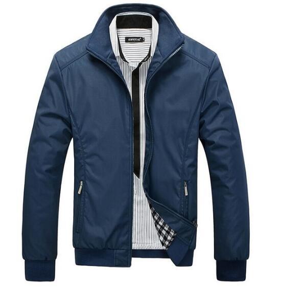 Homens jaqueta casaco Corta-vento Dos Homens outwear jaquetas Casuais jaqueta masculina veste homme Sobretudo roupas de marca