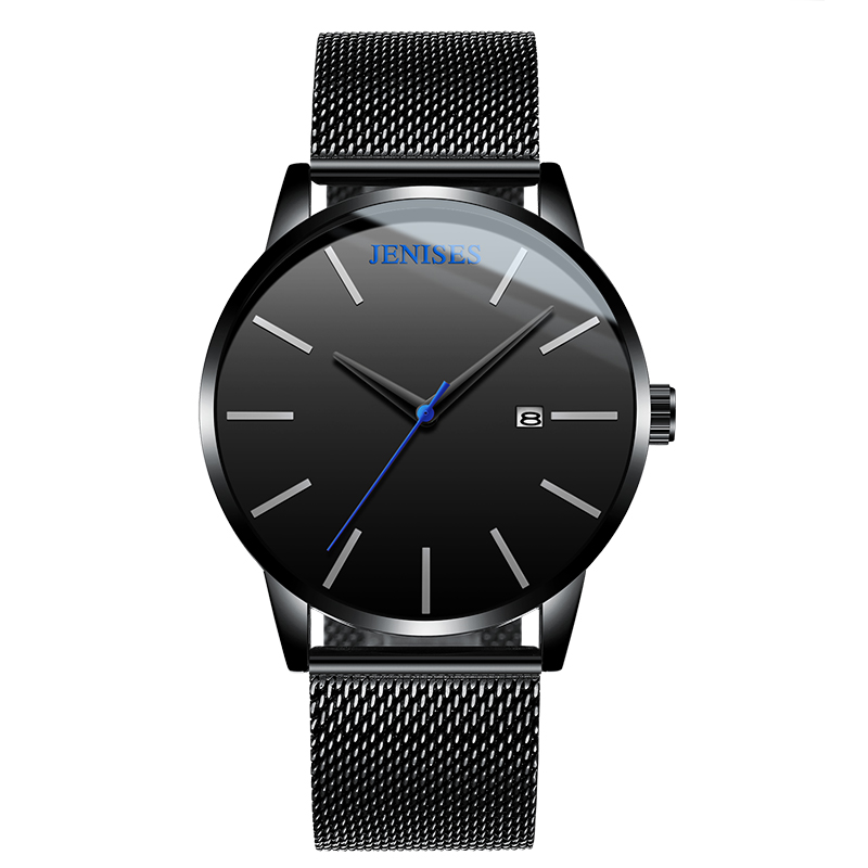 Watch Male Student Net with Simple Style Fashion Elegant High School Students Tide Personality Waterproof Genuine Men's Watches