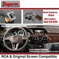 Para Mercedes Benz Classe GLK X204/RCA & Original tela Compatível com Câmera de Visão Traseira/Back Up Câmera Reversa conjuntos