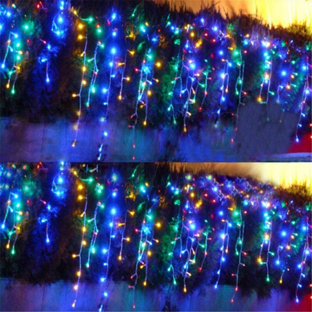 Us 47 98 10mx4m 1280 Led Outdoor Christmas Curtain String Light Party Fairy Wedding Background Hotel Holiday Decoration Supply 220v 110v In Led