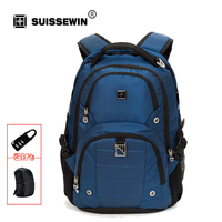 Swisswin Hot Sale 2016 Fashion Brand Backpack Sw9217n Large Capacity Bag Multi Pocket Backpack For Business