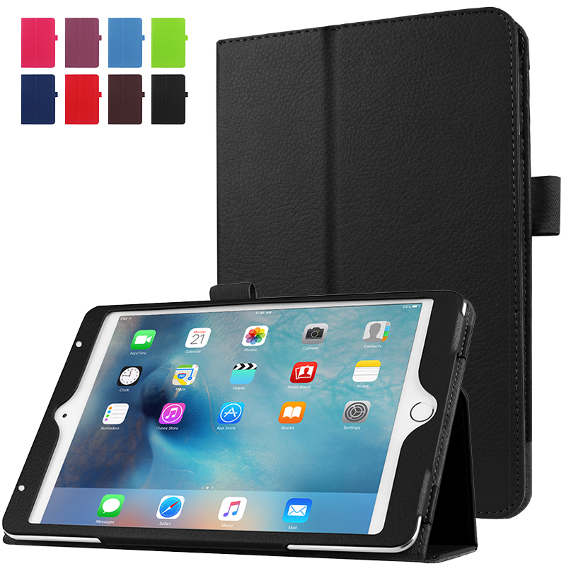 WeFor Case For iPad Mini 4 Folio PU Leather Stand Cover Ultra Thin for Apple iPad Mini 4 with Screen Protective Film+Stylus Pen
