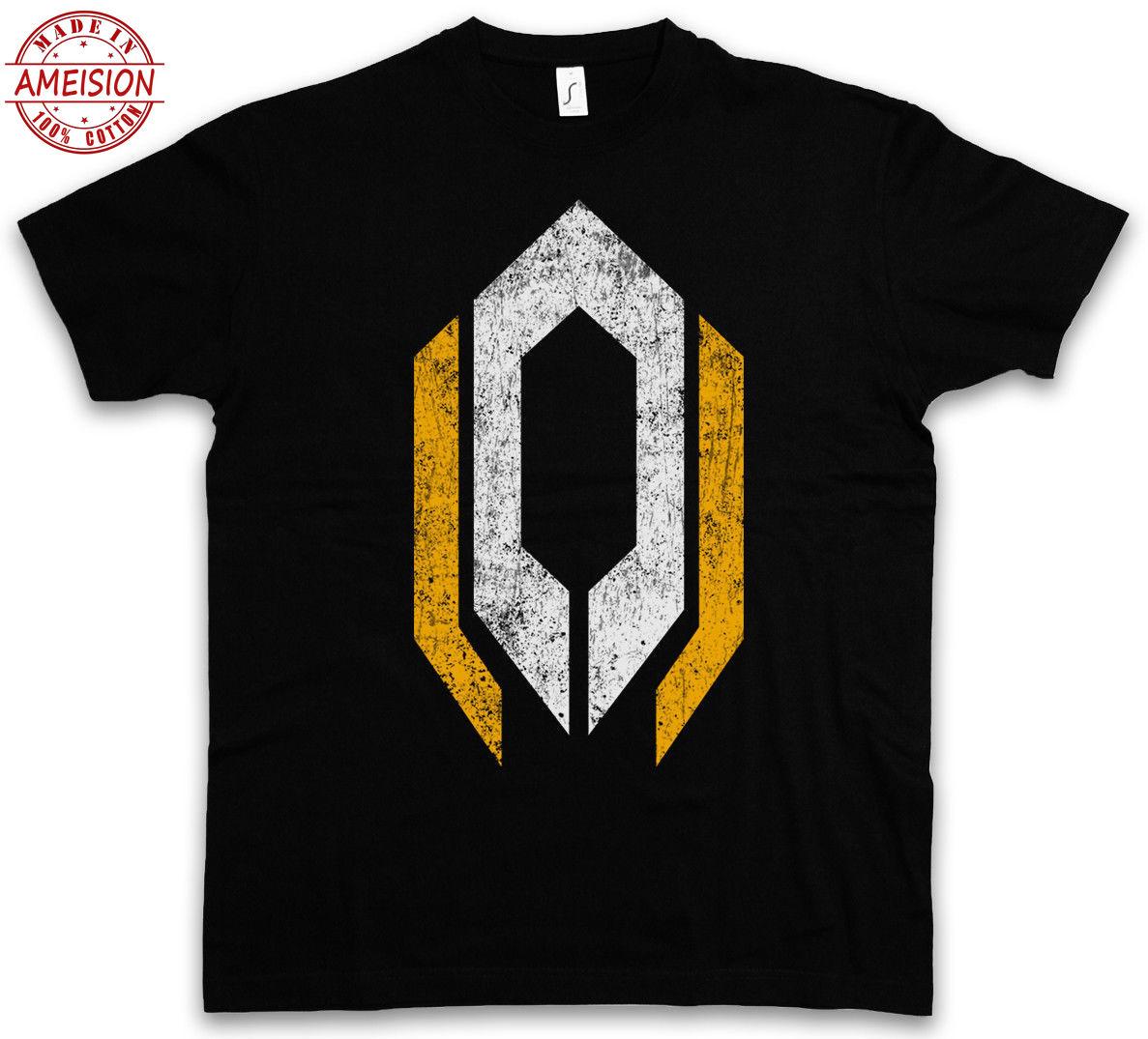 Cerberus Logo T-shirt-masse Kommandant Shepard Zeichen Video Pc Spiel Wirkung T Hemd