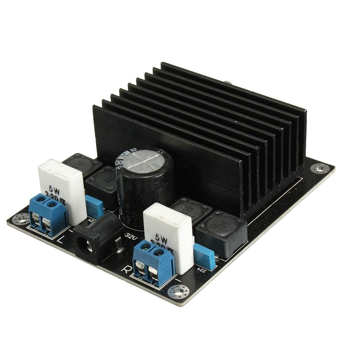 100 w + 100 w amplificador tda7498 classe d amp subwoofer montado placa módulo diy