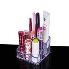 Lipstick Lip Gloss Makeup brush tools Transparent Acrylic Co