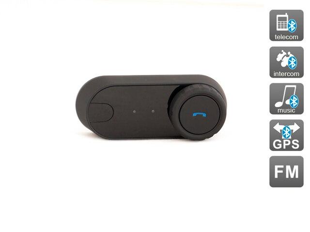 Bluetooth 2.1 + EDR fone de ouvido do Capacete Da Motocicleta Intercom Interphone Fone de Ouvido com Rádio FM, AVIS Eletrônica DRC01BT