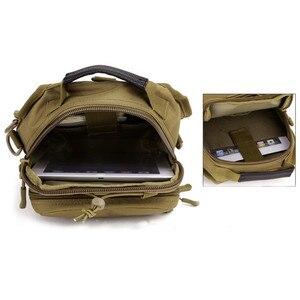 Image 4 - Norbinus 2018 männer Schulter Handtasche Military Brust Tasche Sling Pack Taktische Umhängetaschen für Männer Wasserdichte Nylon Gürtel Taschen