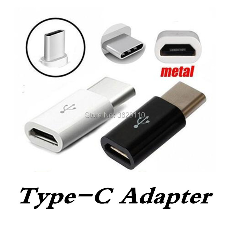 Micro USB Female to Type C Male Cable USB 3 1 Adapter Charger Data Sync Converter