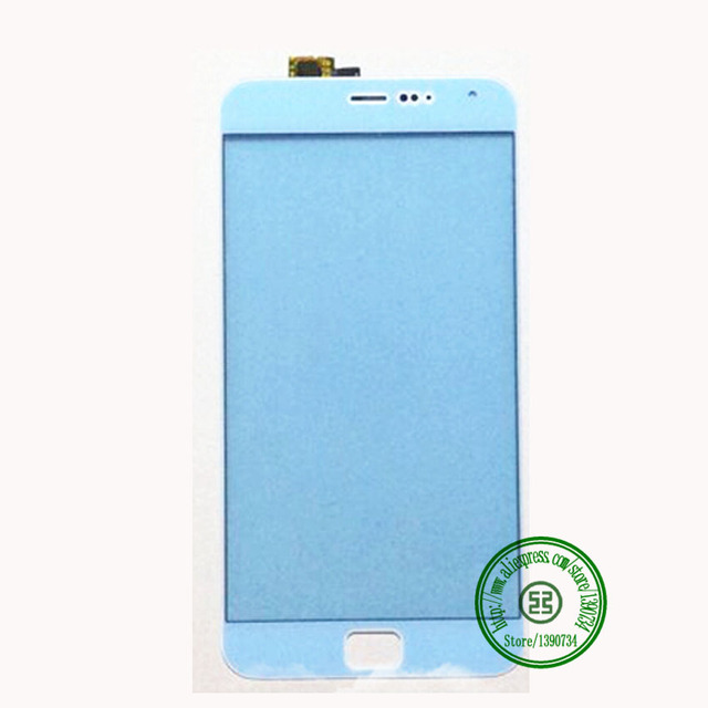 Tested Work White MX4 Pro Sensor Outer Glass Lens Panel Touch Screen Digitizer For Meizu MX4 Pro Cell Phone Repair Parts