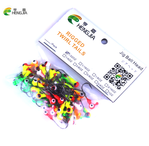 HENGJIA 50Pcs/lot Winter Ice Fishing Lure Mini Metal Lead Head Hook Bait Jigging Lure Hooks High Quality For FishingTackle dunlop sp winter ice 02 205 65 r15 94t