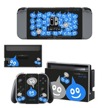 Dragon Quest Decal Vinyl Skin Sticker for Nintendo Switch NS Console + Controller + Stand Holder Protective Skin Sticker цена и фото