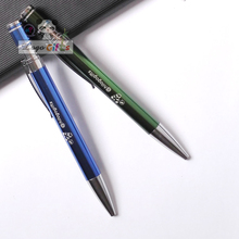 NEW arrival Cheap company events promotional ball point pens In 10colors can custom free with your logo/email/weburl 60pcs a lot