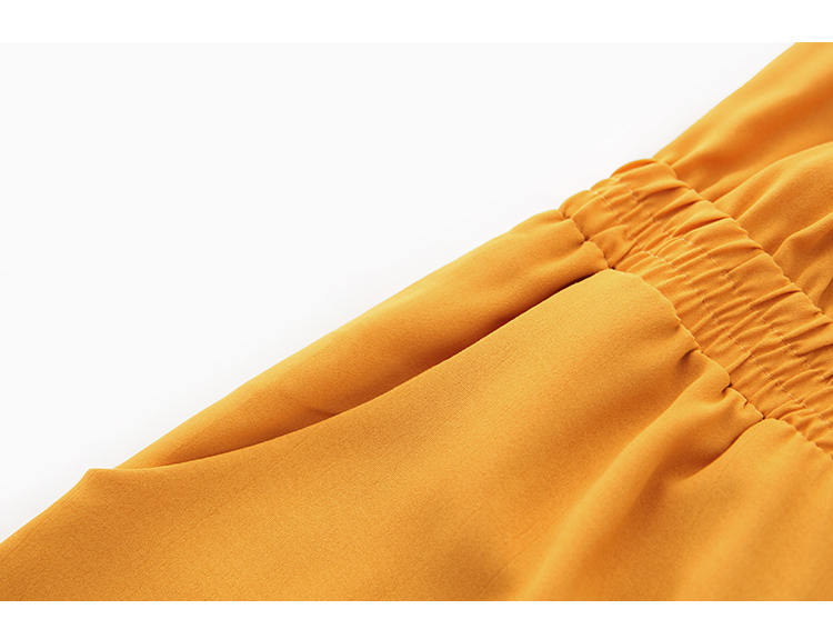 Women's Clothing 2019 Summer New Sexy Bohemian Style Spaghetti Strap Helf Sleeve High Waist Sling Long Beach Wide Leg Jumpsuit 36