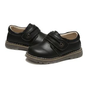 Image 3 - Sapatos meninos de escola estudante de couro genuíno sapatos pretos primavera outono zapato calçados para crianças chaussure menino calçados infantis