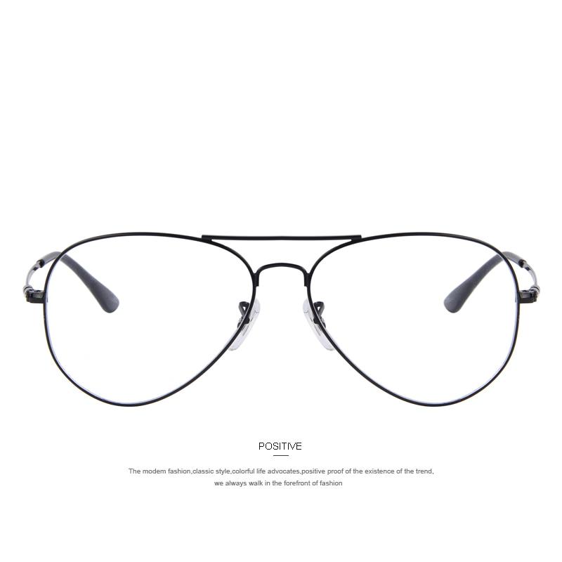 MERRYS Fashion Women Titanium Glasses Ramar Män Brand Titanium - Kläder tillbehör - Foto 2