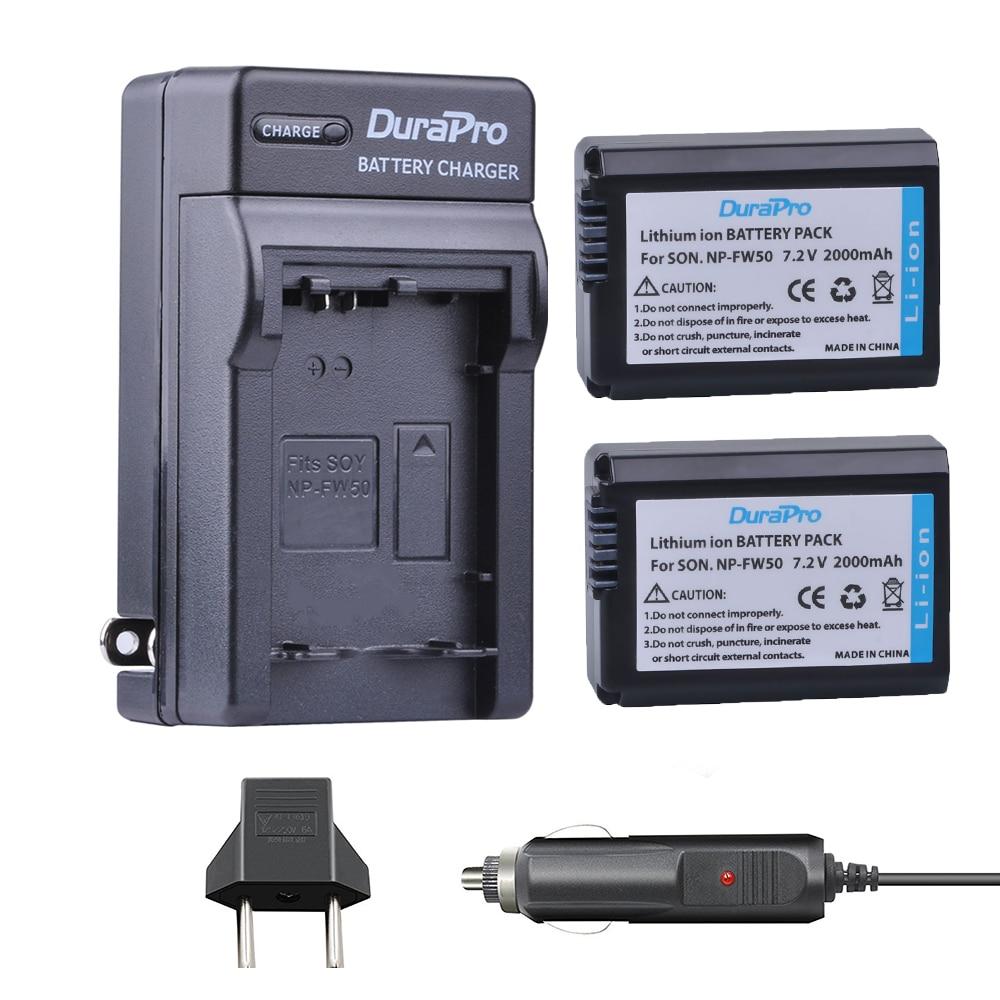 2pc NP-FW50 NP FW50 FW50 Li-ion Battery+Car Charger +EU AC For Sony A6000 NEX-7 NEX-5N NEX-F3 NEX-3D NEX-3DW NEX-3K NEX-5C 7R II цена и фото