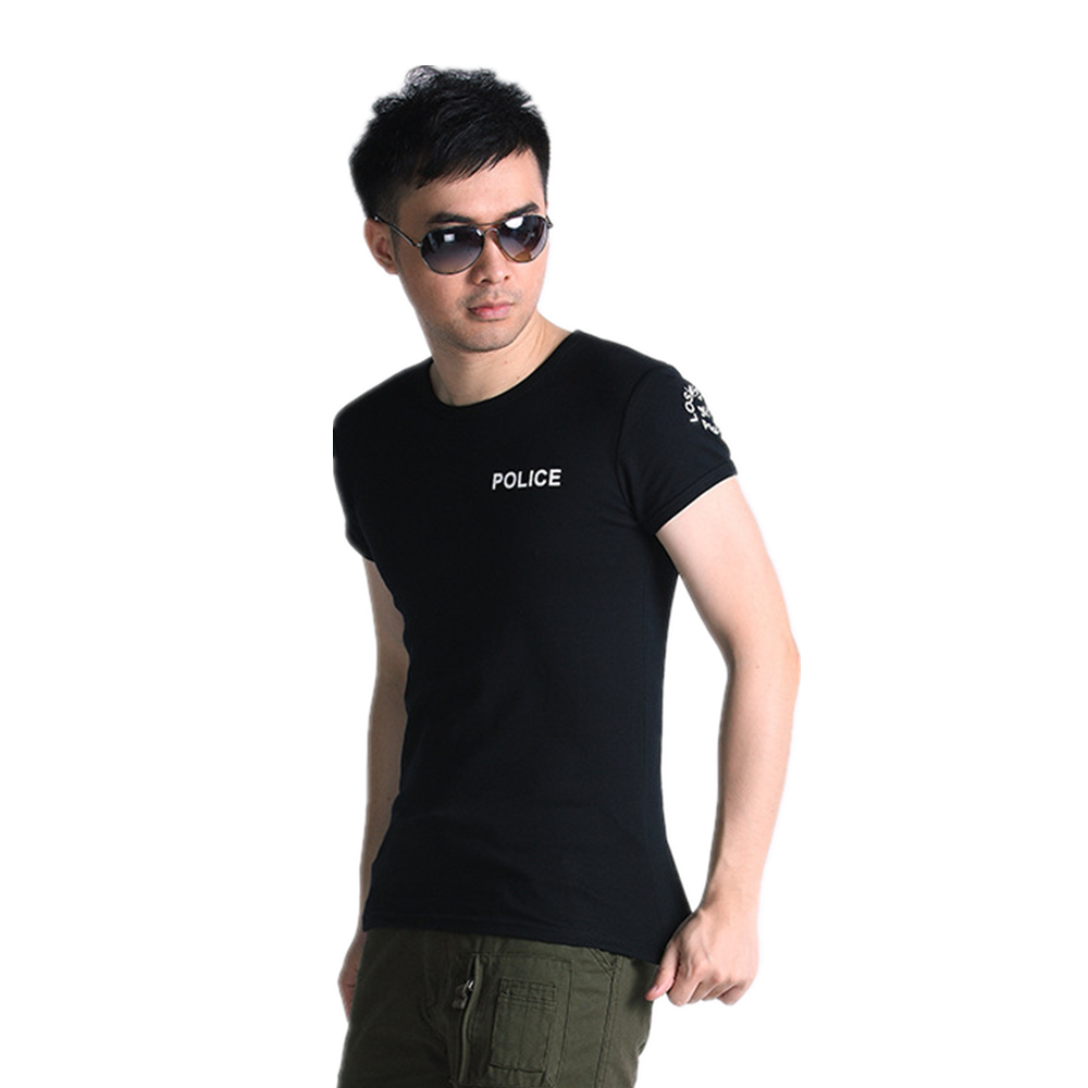 mens cotton summer t-shirt men Fitness tops Tees Short Sleeve t-shirt clothes shirt o-neck plus size hunting military sports