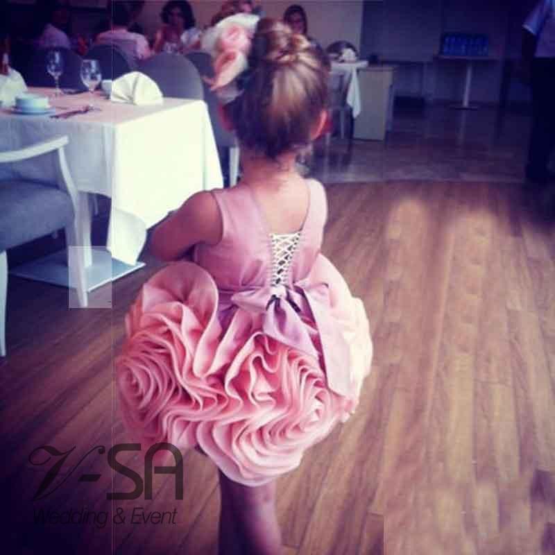 28624280056 Pretty Girls Ball Gowns Flower Dress 2016 Cheap Flower Girl Dresses For  Weddings Pink Kids Prom Dresses Beautiful Pageant Dress-in Flower Girl  Dresses from ...