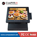 Cheapest POS Terminal 12 inch All In One Desktop Touch PC with MSR