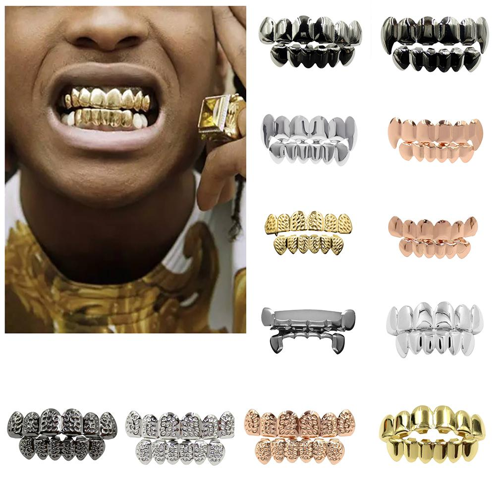 Grillz Dental Jewelry Teeth-Caps Cosplay Party Hip-Hop Halloween Women's For Funny