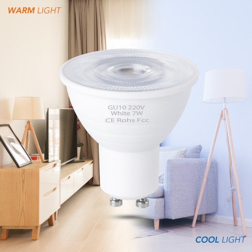 Lights & Lighting Light Bulbs Ampoule Led Lamp Gu10 Bulb Led Spotlight Mr16 220v Lamp 5w 7w Lampada 6 12leds Spot Light Bulb 2835smd Energy Saving Light Gu5.3