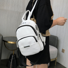 Fashion Women Small Backpack 2019 High Quality Youth PU Leather Backpacks for Teenage Girls Female School Bagpack Bag Sac A Dos цена