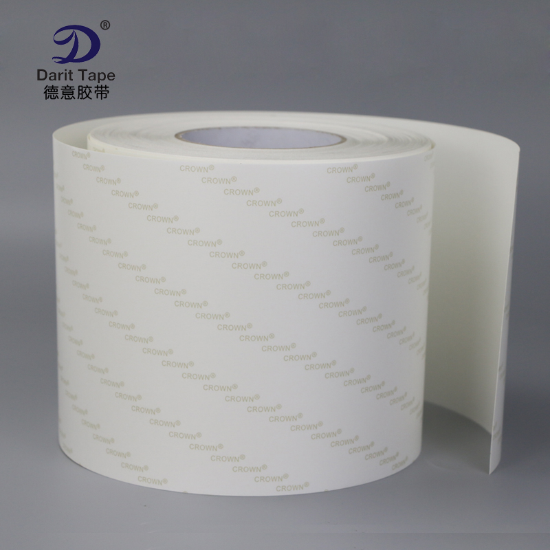 Ultra - transparent strong PET seamless double - sided tape double - sided release paper double - sided adhesive 10 ~ 30mm