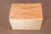 Adult Cajon font b Drum b font Maple plywood Normal Color EMS free shipping font b