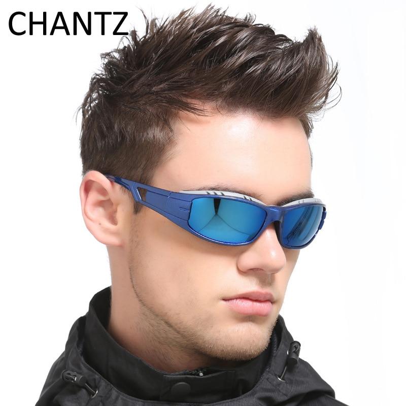 Vintage Polarized Sunglasses Men 2017 Reflective Coating Fishing Sun Glasses Plastic Frame Sport Goggles UV400 Eyewear 6 Colors