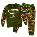 Spring/Autumn Army Camouflage Casual Kids Clothing Sets for Boys Clothes Sweatshirts+Pants t0178DBO