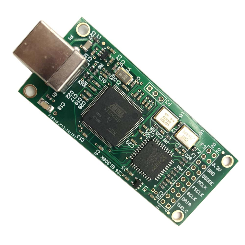 Italy Amanero USB digital interface CAS supports 384K DSD512 wins XMOS