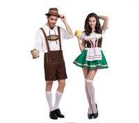 Adult Halloween Costumes For Men Hot German Beer Costume Adult Oktoberfest Beer Festival Costume Mens carnival Cosplay Costumes