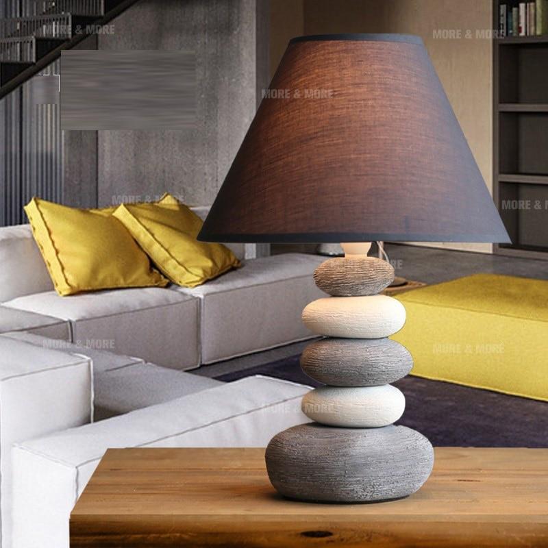 Us 98 0 Schreibtisch Lampen Tischlampe Nordic Schlafzimmer Nachttischlampen Kreative Amerikanischen Keramik Einfache Modern Fashion Nette Warme