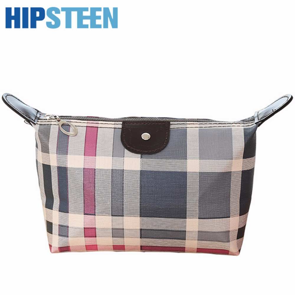 HIPSTEEN Women Small Bag Portable Cosmetic Bag With Waterproof Printing Design Makeup Bag Cases Store Bag Travel Organizer Khaki цена 2017