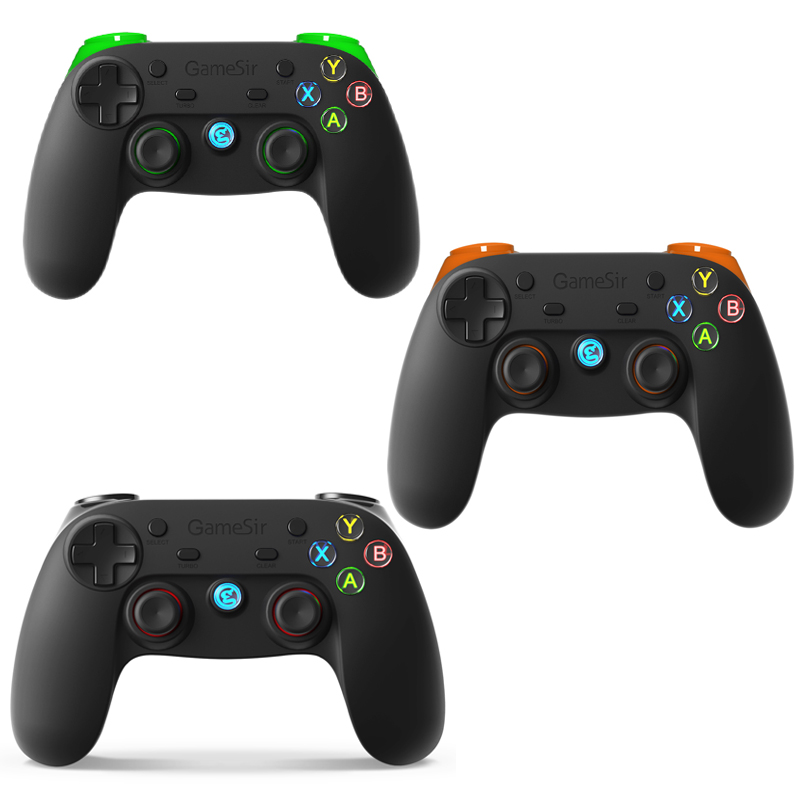 GameSir G3s 2.4G Wireless Game Controller for Android Smartphone Tablet TV Box, Windows PC, PS3 and Gear VR Without Holder