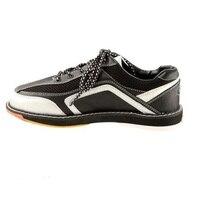 Genuine Leather Men Bowling Shoes Breathable Lightweight Sneakers Women Platform Anti Slip Training Walking Shoes AA10074