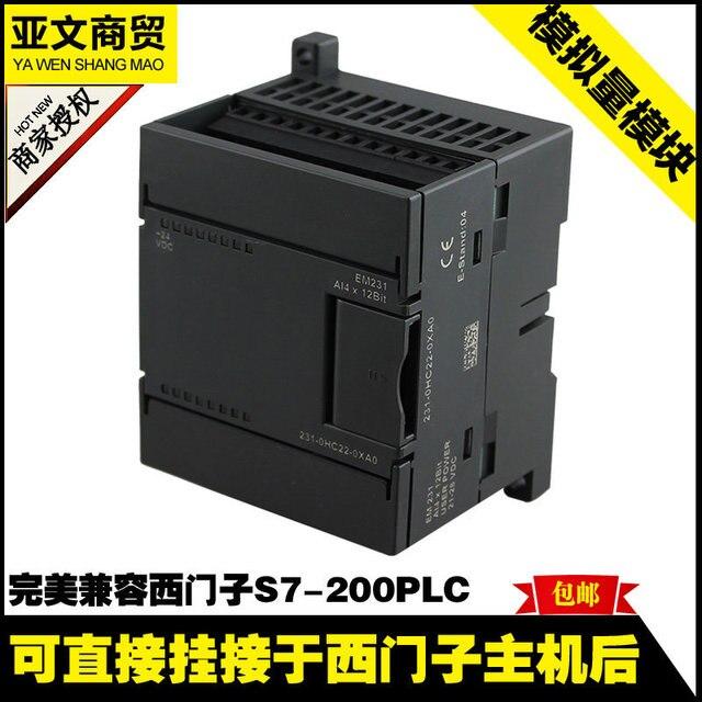 Бесплатная доставка S7-200 модуль аналогового EM231-AI4 4 аналоговый вход CN-PLC