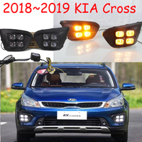 LED,2018 KlA KX cross daytime Light,kx cross fog light,kx cross headlight;soul,k5,sorento,kx5,Sportage R,K 3 ,Rio,cerato,KX 5